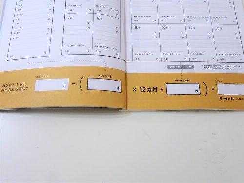 雑誌付録,家計簿