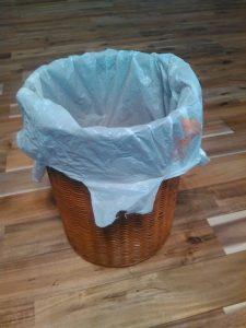 ゴミ箱 袋 見えない 自作