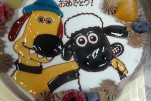 お祝いケーキ、キャラクターケーキ、