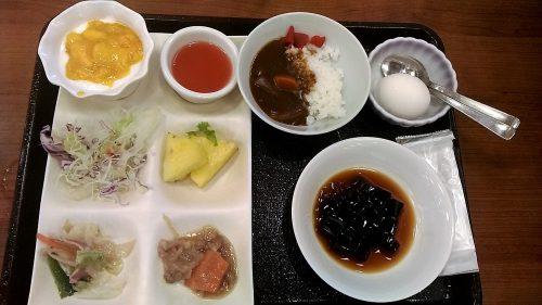大江戸温泉,ホテル新光,カレー