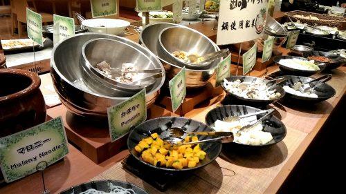 大江戸温泉,ホテル新光,食べ物