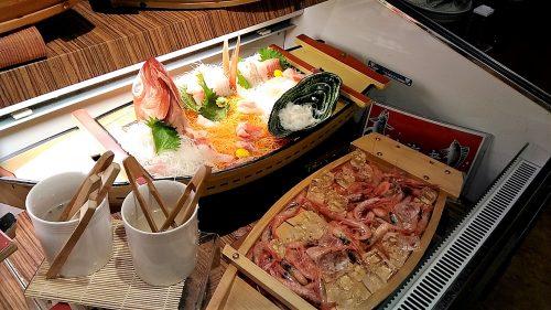 大江戸温泉,ホテル新光,刺身