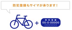 サイマ自転車登録