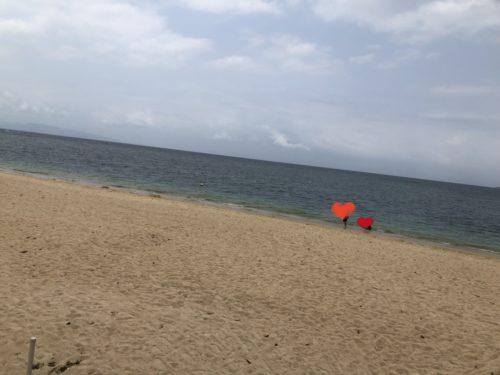 フキサビーチ混雑