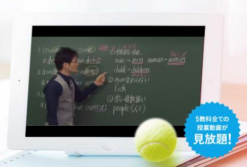 スタディサプリ中学生講座動画