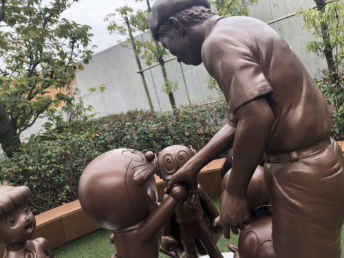ドラえもんミュージアム銅像