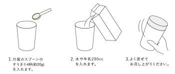 ガレイドスマートフード(GALLEIDO SMART FOOD)飲み方