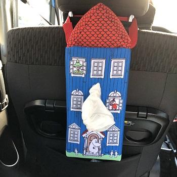 車ティッシュケース可愛い