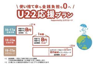 アイカサU22応援プラン