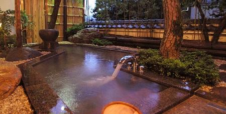 熱海石亭客室露天風呂