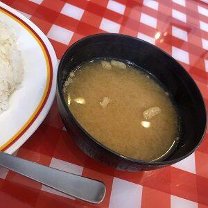 パンチョ味噌汁